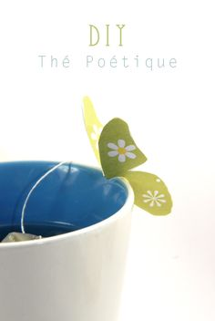 DIY Butterfly Tea Bags Tutorial with FREE Printable Templates