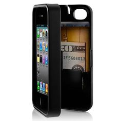 Eyn iPhone 4 Case: Not only need a case to protect your iPhone 4 or 4S, but also want a card slot to hold your cards and cash.