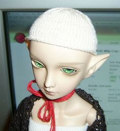 Wig Cap - Inside Out - Front by tephralynn, via Flickr