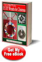 """How to Make Wreaths: 15 DIY Wreaths for Christmas"" eBook from @AllFreeChristmasCrafts"