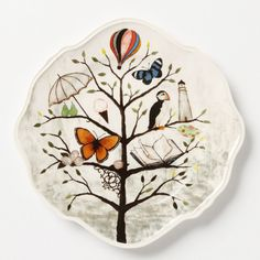 amazing whimsical anthro plates