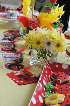Ladybug party. Cute!