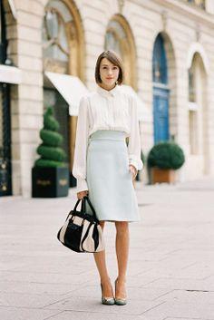 Paris Fashion Week SS 2014....Ella