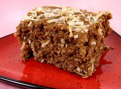 Coconut Chai Breakfast Cake - my adapted shopping list - chai tea, whole spelt flour, rolled oats, sweetener of choice, spices, applesauce (coconut) - try adding some fresh apple chunks to it, and a few chopped pecans or walnuts to the finished cake