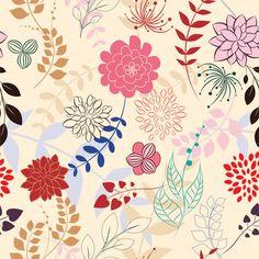 Floral Melange Shelf Paper