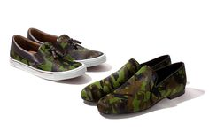 Jimmy Choo's 2012 Fall/Winter camo shoes
