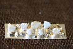 Tooth fairy knuckle ring in progress...