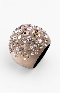 Gorgeously dreamy Alexis Bittar Sepia Dust Dome Ring!!!