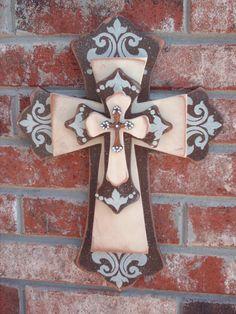cross wall on pinterest crosses decor wooden crosses