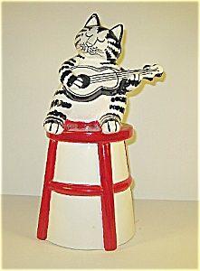 Kliban Cat Cookie Jar made in Japan by Sigma