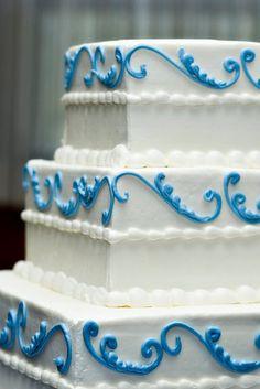 wedding cake | blue