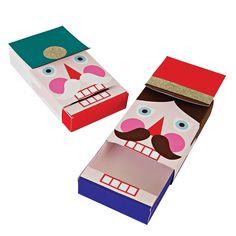 Nutcracker Gift Card Boxes