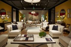 Jacques Garcia space at Baker Furniture space at #hpmkt