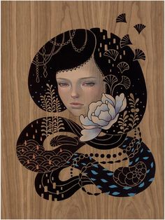 Audrey Kawasaki: exclusive first look at new paintings - Boing Boing