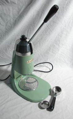 Coffee Makers On Pinterest Espresso Machine Vintage