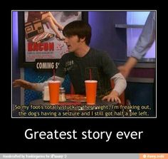 Gotta love Drake and Josh---- anyone notice the movie poster??? IT SAYS BACON!!BACON!!