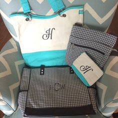 Thirty-One Gifts - The perfect set! #ThirtyOneGifts #ThirtyOne #Monogramming #Organization #StyleAndFunction