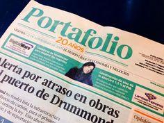Portada PORTAFOLIO COLOMBIA - noviembre 2013 - entrevista con motivo PONENCIA SEMANA GLOBAL D EMPRENDEDORES- tendencias en emprendimiento