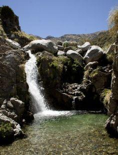 Merlo, San Luis. Cascada de Pasos Malos