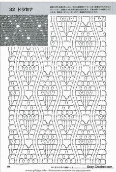 lacy crochet stitch
