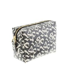 Printed Makeup Pouch, J. Crew