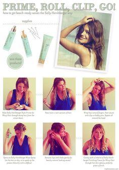 Beachy Hair how-to