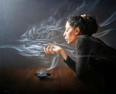 smoke scrying, Andrian Bekiarov