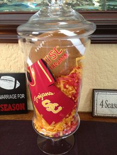 USC Football season home decor. Fight on!