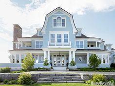 House on Lake Michigan.