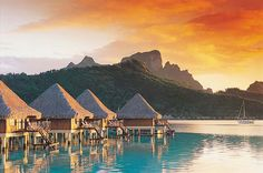 Bora Bora! Wow! This is a for sure visit!