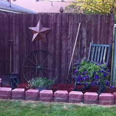 New flower bed.  Might do this?