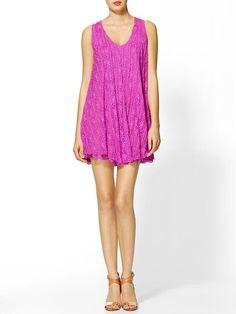 Piperlime | Lace Swing Dress $98