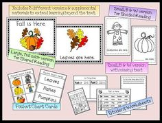 shared reading, special education, pocket charts, guided reading