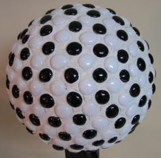 Nicely done mosaic bowling ball