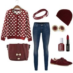 Top 20 Amazing Outfits Ideas For Valentine's Day 2019