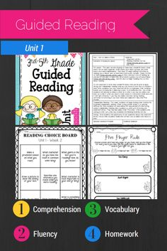 This 6-week unit is broken down to day by day lessons. Each lesson is written in a reading workshop format. There is also an additional handout or guided practice activity for each of the lessons. There are also fluency passages, vocabulary words, and reading homework! $