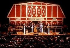 My Mom Loved the Grand Ole Opry on Saturday nights...We would go---ahh MOM!!! NO....LOL.
