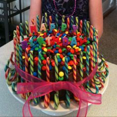 Easy birthday cake I made for my daughter's 10th birthday.