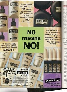 This phrase tends to refer to a, um, different context. Right? I feel uncomfortable now.   14 Weird Vintage Beauty Ads