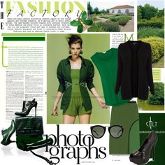 """""""Green inspiration...."""" by ornellav on Polyvore"""