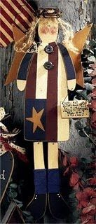 Americana Angel E-Pattern by Sue Allemand of Palette Primitives