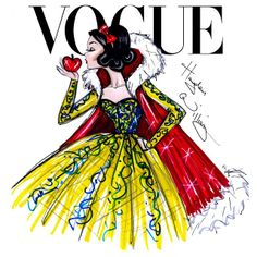 Hayden Williams  Disney Divas for Vogue by Hayden Williams: Snow White