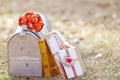 cute idea to put wedding cards in.