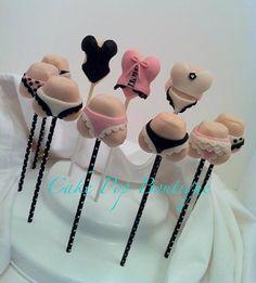 Sexy Bridal Shower Cake Pops