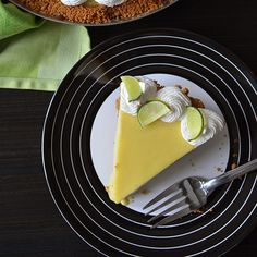 Key Lime Pie. Make this recipe with lemons, Meyer lemons, grapefruits, sour oranges…any citrus that is super tart. Remember that the sweetened condensed milk is very sweet. ♥ Food & Wine