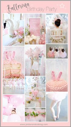 Ballerina Birthday P