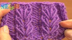 Wheat Ear Loop Stitch Pattern Tutorial 6 Free Knitting Stitch Patterns F...
