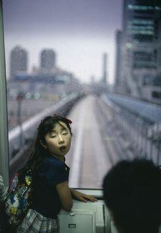 JAPAN. Tokyo. 1996. The new metro. © Gueorgui Pinkhassov / Magnum