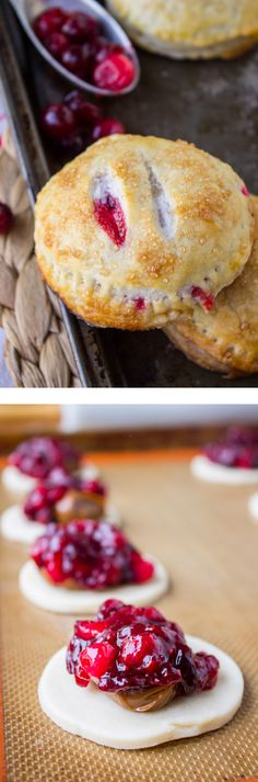 Cranberry Dulce de Leche Hand Pies from The Food Charlatan // The perfect dessert for Thanksgiving! A whole pie to yourself.
