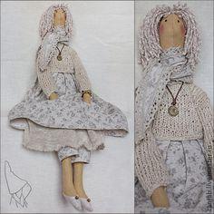 Куклы Тильды ручной работы. Ярмарка Мастеров - ручная работа Эрика, кукла в стиле Тильда. Handmade.